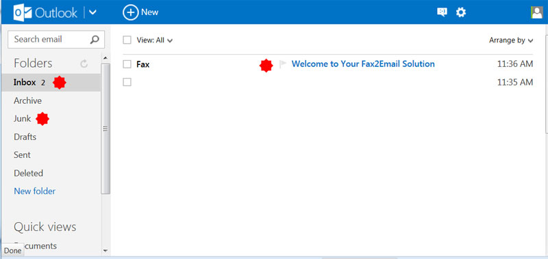 Outlook Free Fax To Email